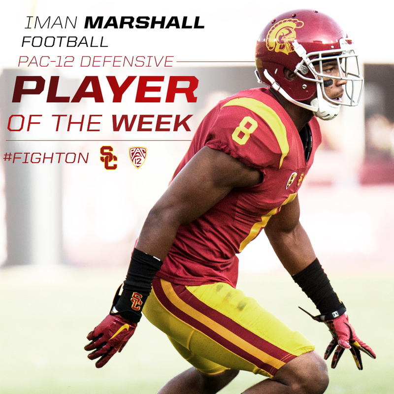various colors 834d9 55216 Marshall of the Secondary - USC Athletics