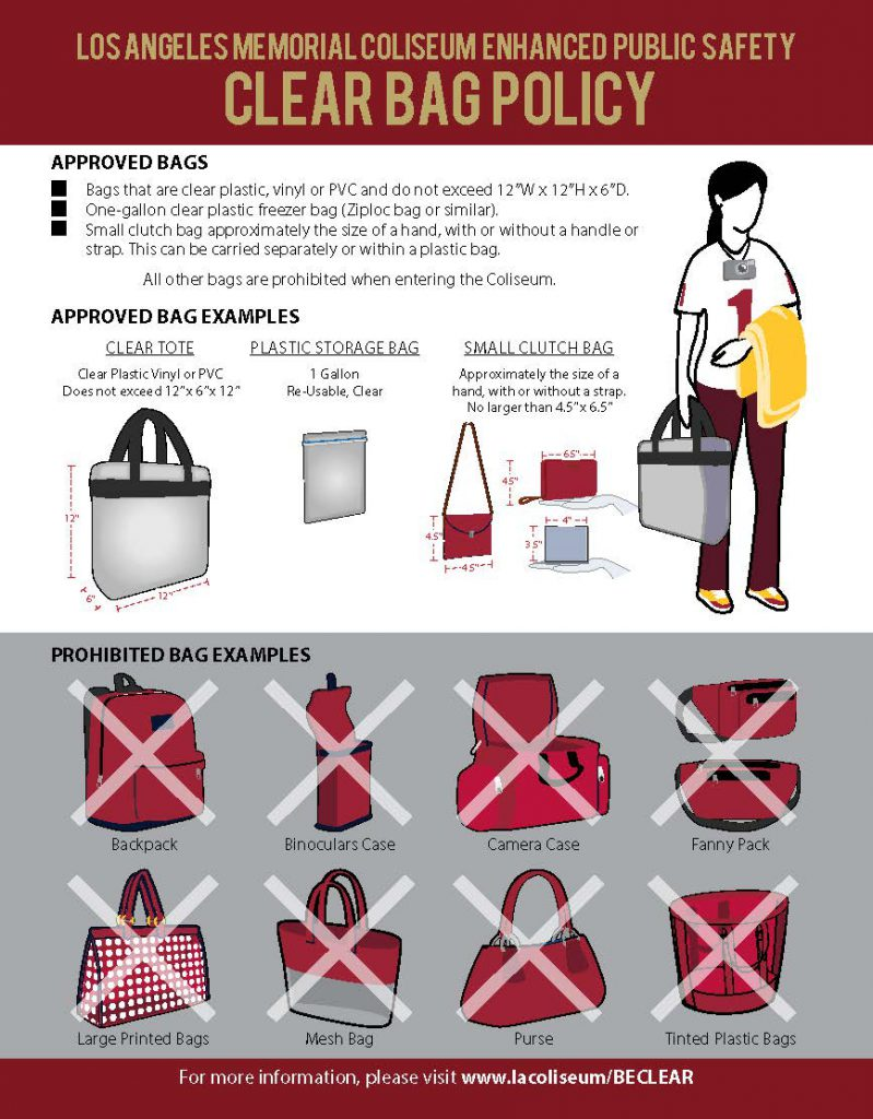 Stadium Policy - USC Athletics