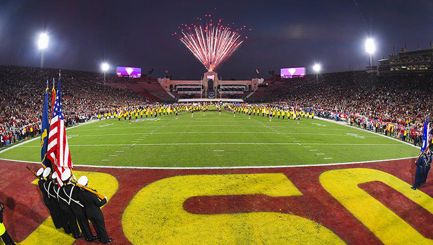 Fan Experience Updates For 2018 Usc Football Games In