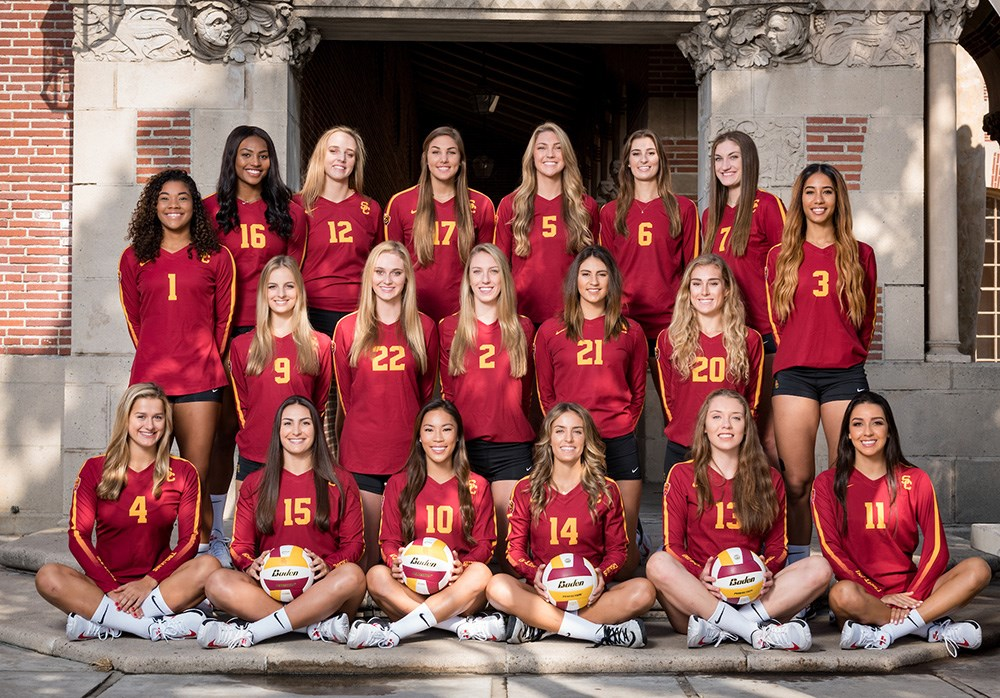 2017 Women S Volleyball Roster Usc Athletics