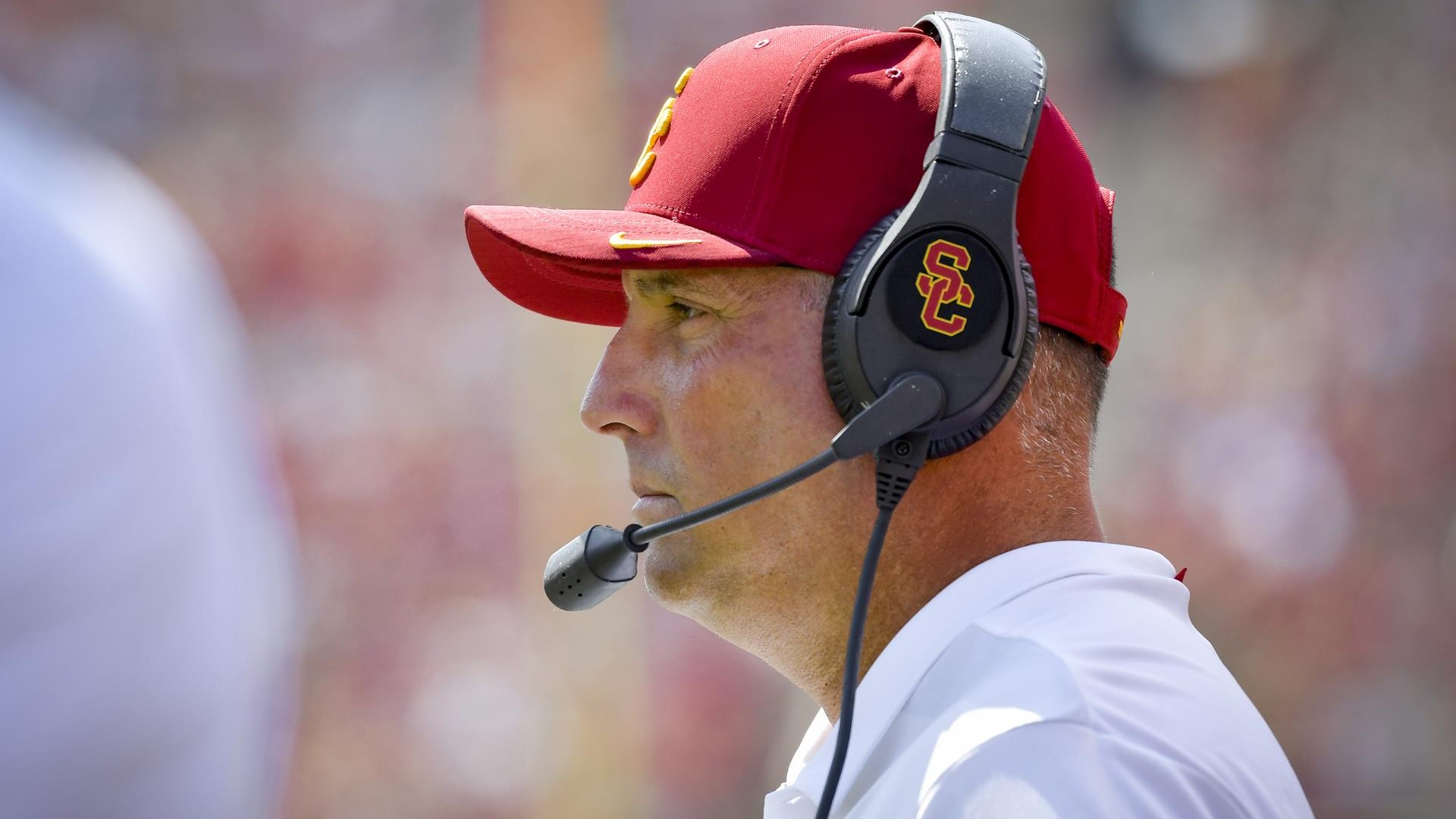4c18340577f USC Football Head Coach Clay Helton To Take Over Play Calling Duties ...