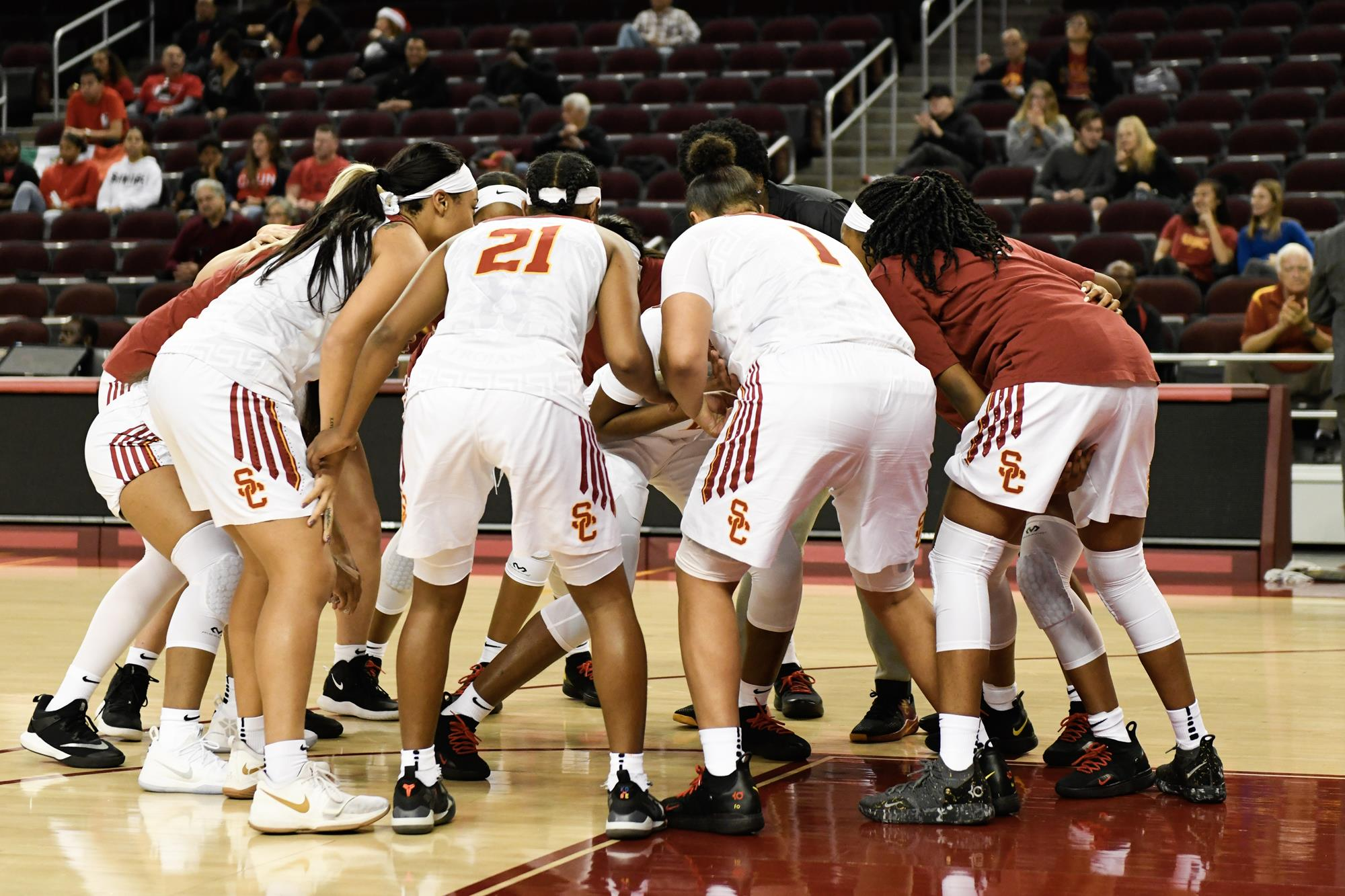 30fa2df05 USC Women Open Pac-12 Play With Rivalry Clash Against UCLA At Galen ...