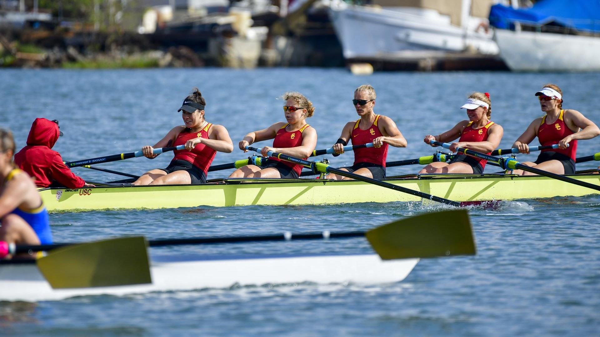 79e90e6f822c USC Women s Rowing Places 12th at NCAA Championships - USC Athletics
