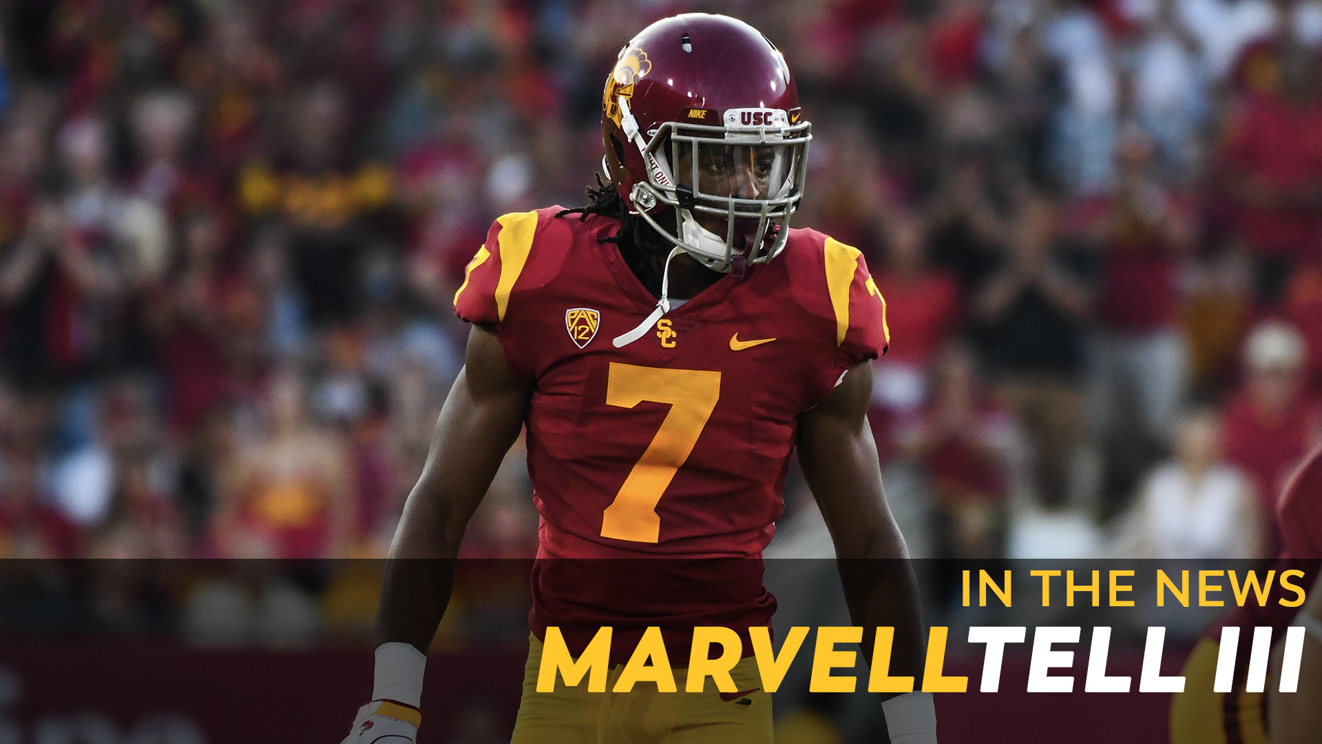 100% authentic f7b13 42bea In the News: Marvell Tell III - USC Athletics