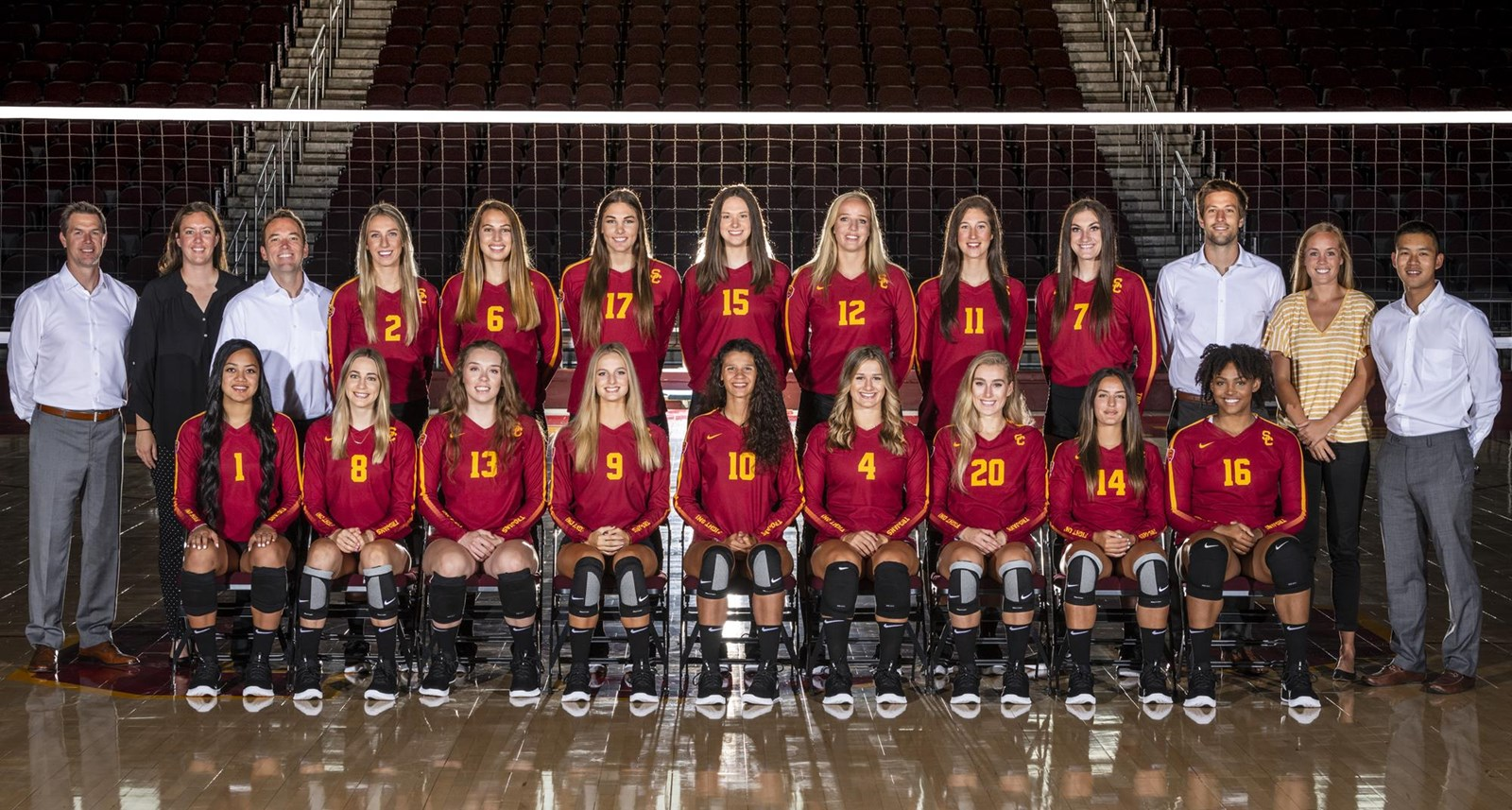2018 Women S Volleyball Roster Usc Athletics