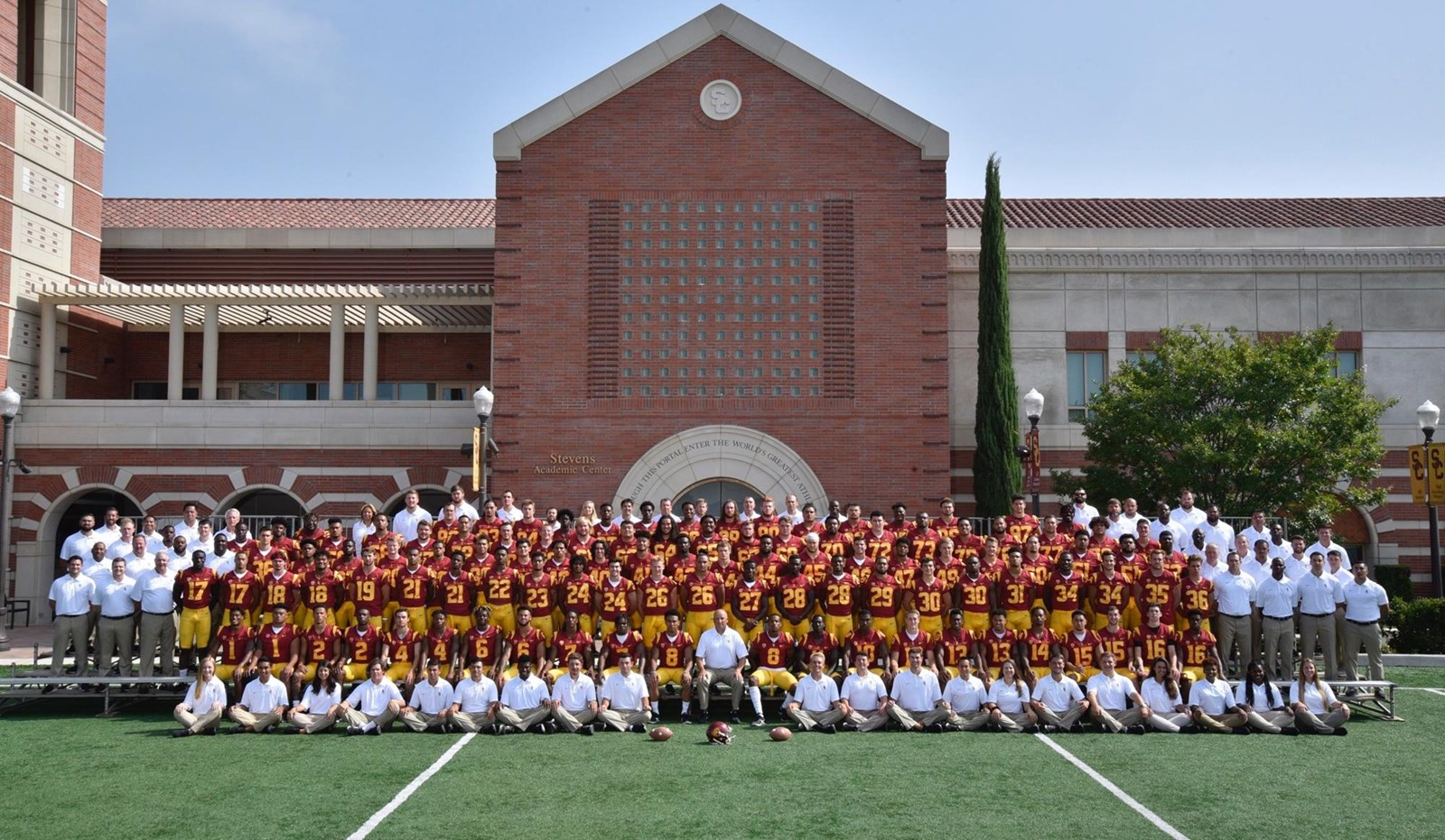 2018 Football Roster Usc Athletics