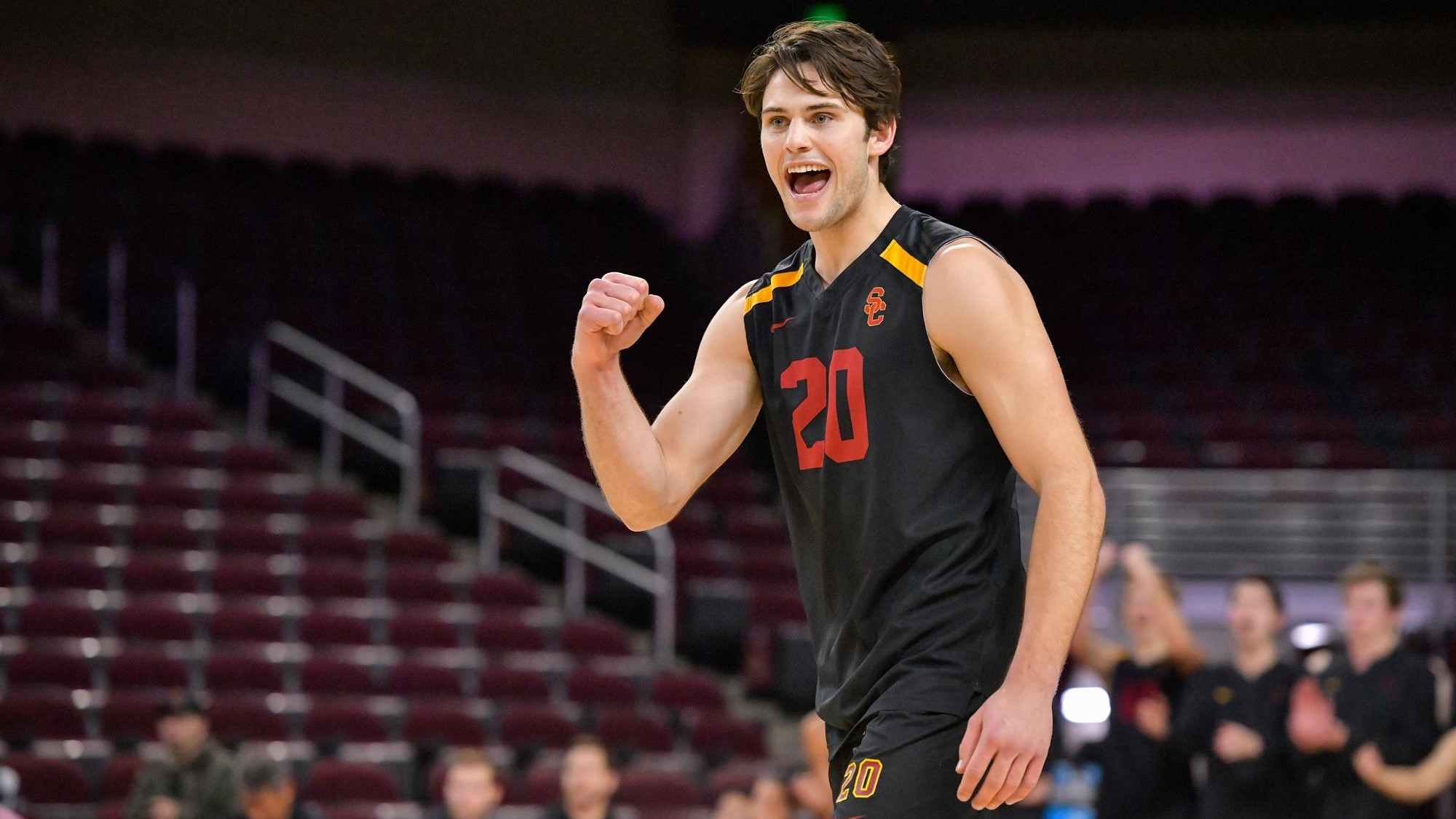 newest 40d73 2e879 No. 5 USC Men's Volleyball Battles No. 6 UCLA In MPSF ...
