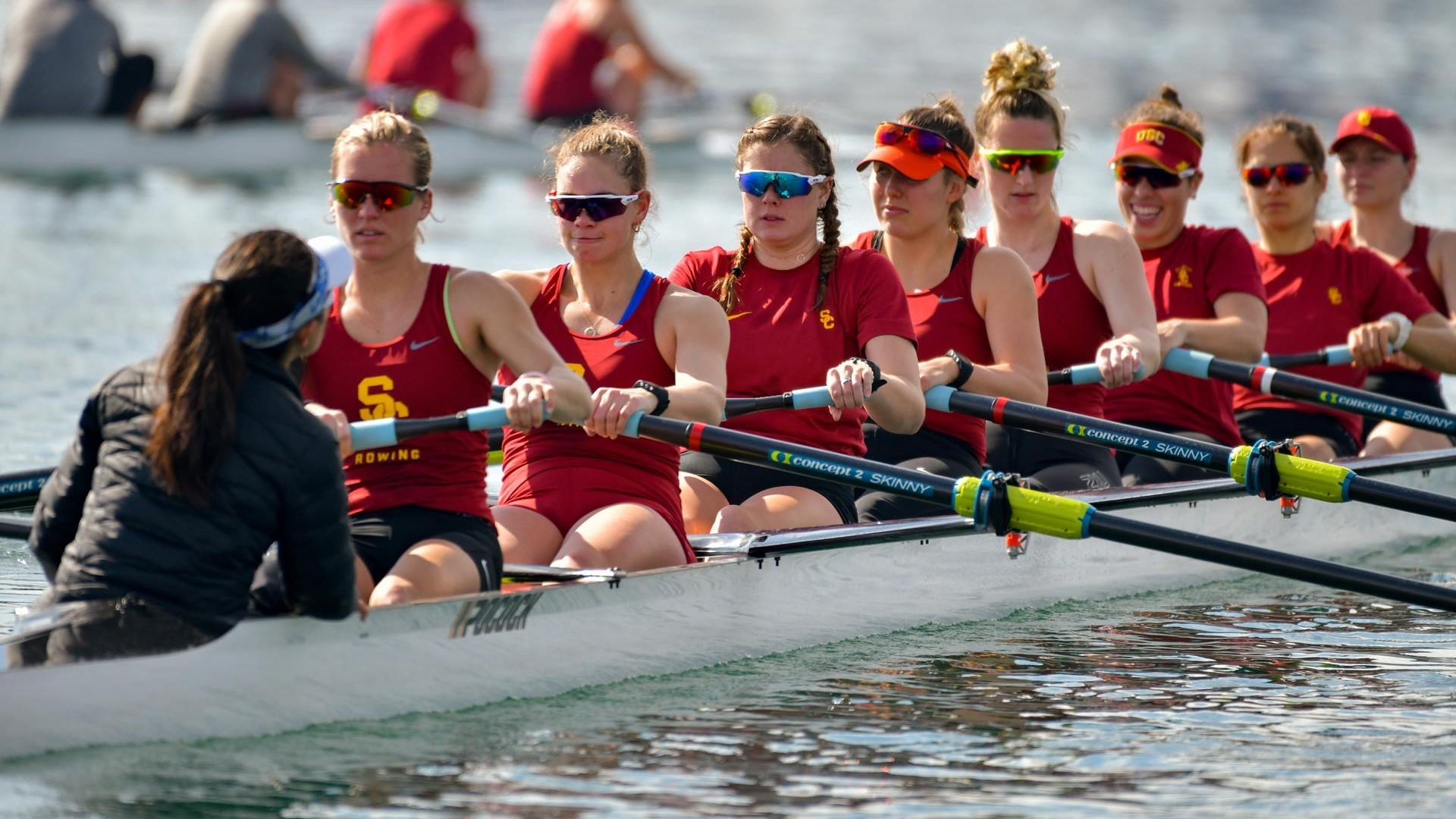 A look at some players on the rowing team