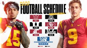 2020 USC Trojans Revised Football Schedule