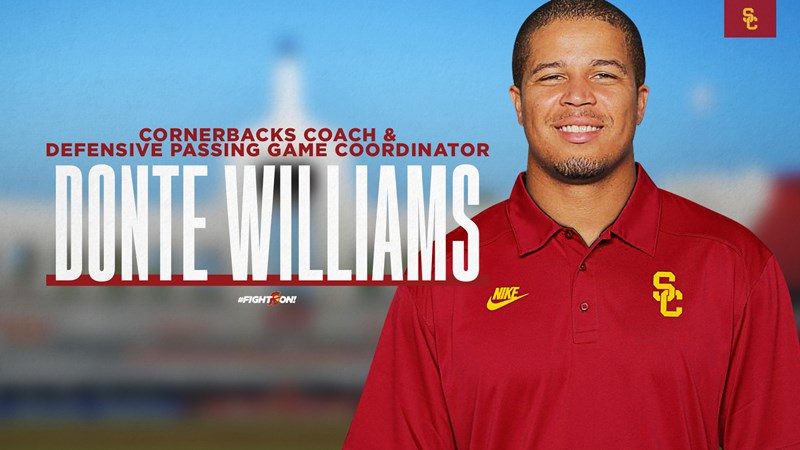 Sean Snyder, Donte Williams Join USC Football Coaching Staff - USC Athletics