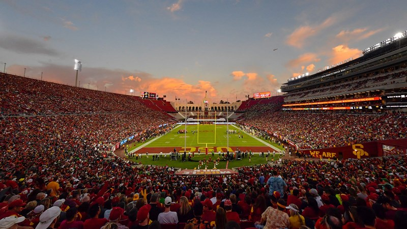 2021 USC Football Home Games In Coliseum To Be At Full Capacity - USC Athletics